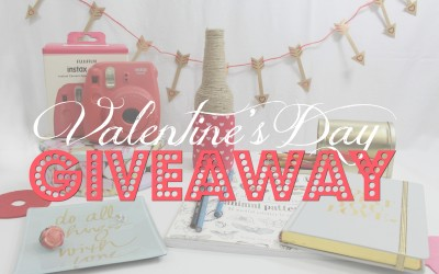 Valentine's Isn't Only For Lovers: My First Giveaway